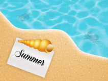 Summer vacations Royalty Free Stock Photos