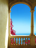 Summer vacations by the mediterranean sea Royalty Free Stock Photo