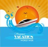 Summer vacations Royalty Free Stock Photo