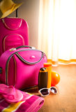 Summer vacations packing Royalty Free Stock Photography