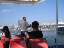 Summer 2007. Vacations at poros island at hellas Royalty Free Stock Image