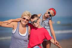 Summer vacations. royalty free stock images
