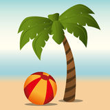 Summer and vacations Royalty Free Stock Photography