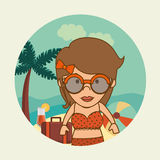 Summer and vacations Stock Image