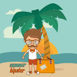 Summer and vacations Royalty Free Stock Image