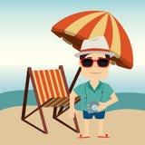 Summer and vacations Royalty Free Stock Photos