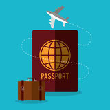 Summer, vacations and travel Stock Photography