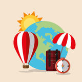 Summer, vacations and travel Royalty Free Stock Photo