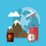 Summer, vacations and travel Stock Photo