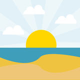 Summer,vacations and travel Royalty Free Stock Image