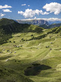 Summer in Valgardena, Italy Royalty Free Stock Photo