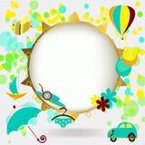 Summer vector background Stock Photos