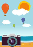 Summer. Vector Royalty Free Stock Photography