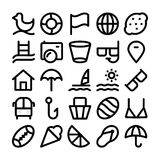 Summer Vector Icons 5. We are offering a new set of summer icons pack. Optimise these icons in your vacations, beaches and travel projects, This pack contains Royalty Free Stock Images