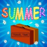Summer. Vector illustration. Stock Image
