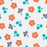 Summer vector seamless pattern Stock Photo