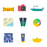 Summer vector set Stock Image