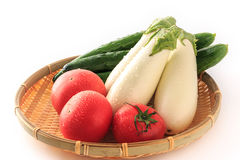 Summer Vegetable on the colander Royalty Free Stock Photography