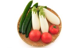 Summer Vegetable on the colander Royalty Free Stock Photo