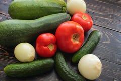 Summer vegetable harvest Royalty Free Stock Images