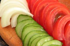 Summer vegetable harvest Stock Images