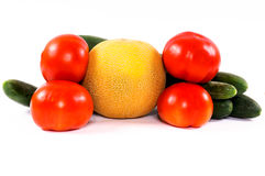 Summer vegetables Stock Photography