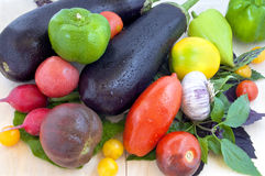 Summer vegetables Royalty Free Stock Images