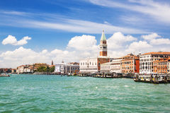Summer venetian seaview Royalty Free Stock Photo
