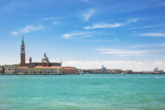 Summer venetian seaview Royalty Free Stock Photos