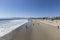 Summer at Venice Beach California Stock Photography