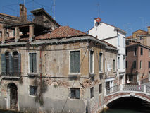Summer in Venice, Grand Canal. Stock Images