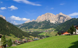 Dolomites - Val Badia Stock Photo