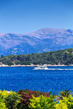 Summer view from Corfu town Royalty Free Stock Image