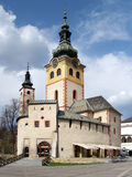 City Castle in Banska Bystrica Stock Photo