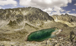 Summer view of the High Tatra Mountains royalty free stock photography