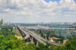 Summer view of Kiev Stock Photos