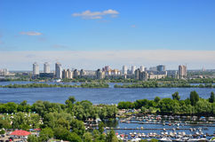Summer view of Kiev Stock Image
