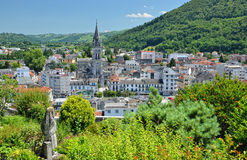 Summer view of Lourdes Royalty Free Stock Photos