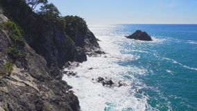 Summer view of Monterosso, Cinque Terre, Italy