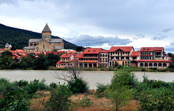 Summer view of Mtskheta old town Royalty Free Stock Images
