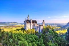 Neuschwanstein Castle Germany royalty free stock photography