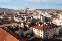 Summer view of Old Town in Prague, Czech Republic Royalty Free Stock Photos