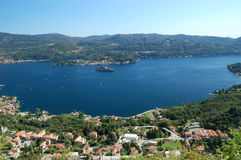 Summer View on Orta Lake Royalty Free Stock Photography
