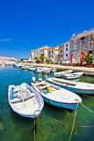 Summer view of Pag town Royalty Free Stock Image