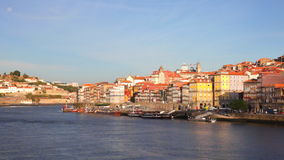 Summer view on Porto, Portugal stock footage