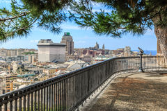 Summer view from Spianata Castelletto Royalty Free Stock Photos