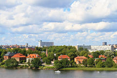 Summer view of Stockholm, Sweden Stock Photo