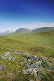 Summer view of Sweden Lapland. Stock Images