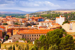 Summer view of Teruel Royalty Free Stock Images