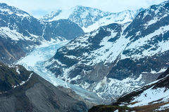 View to Kaunertal Gletscher (Austria) Royalty Free Stock Photography